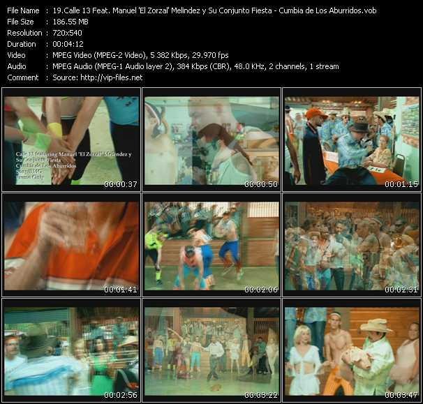 Calle 13 Feat. Manuel 'El Zorzal' Melindez y Su Conjunto Fiesta video screenshot