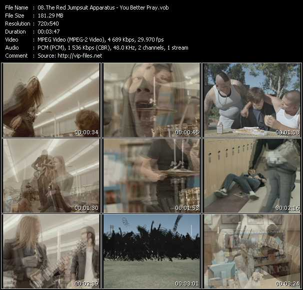 Red Jumpsuit Apparatus video screenshot