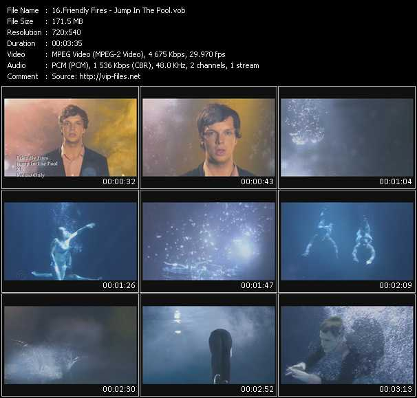 Friendly Fires video screenshot