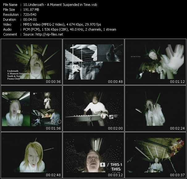Underoath video screenshot