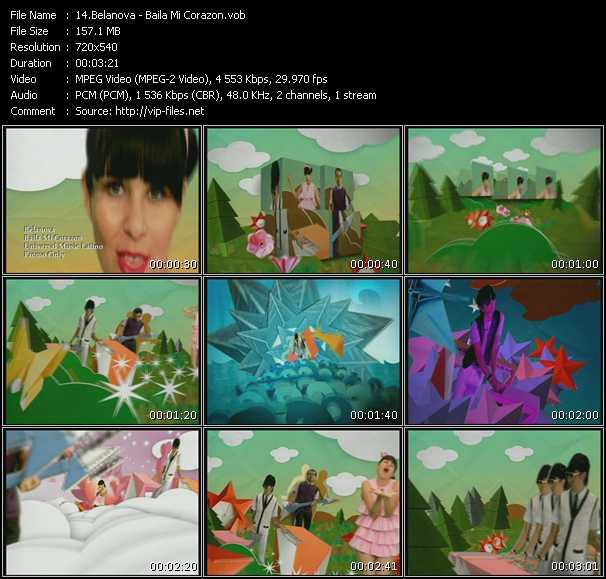 video Baila Mi Corazon screen