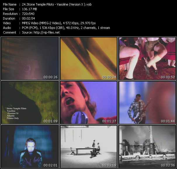 Stone Temple Pilots video screenshot