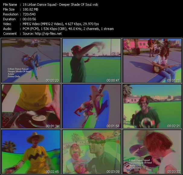 Urban Dance Squad video screenshot