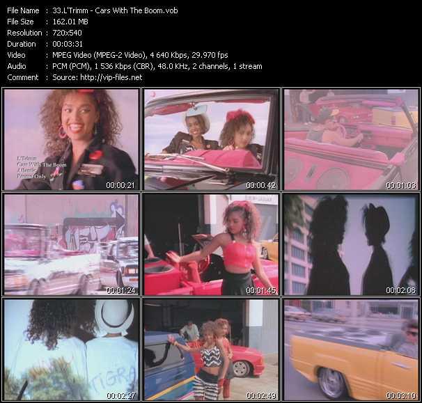 L'Trimm video screenshot