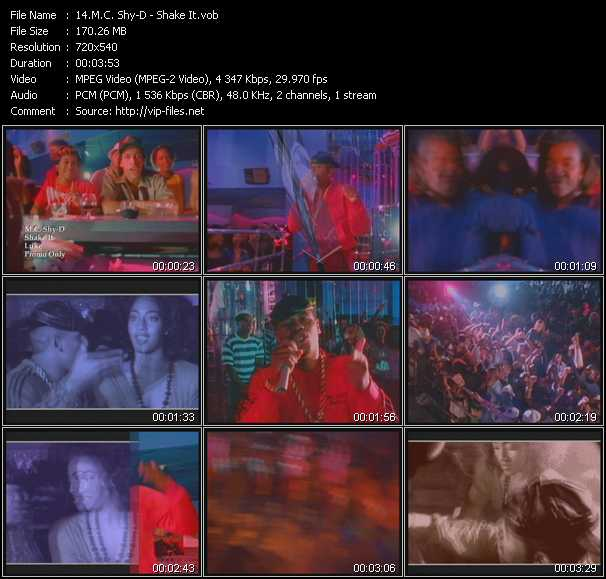 M.C. Shy-D video screenshot