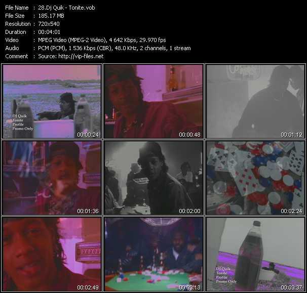 Dj Quik video screenshot