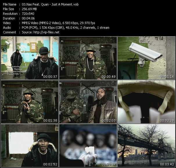 Nas Feat. Quan video screenshot