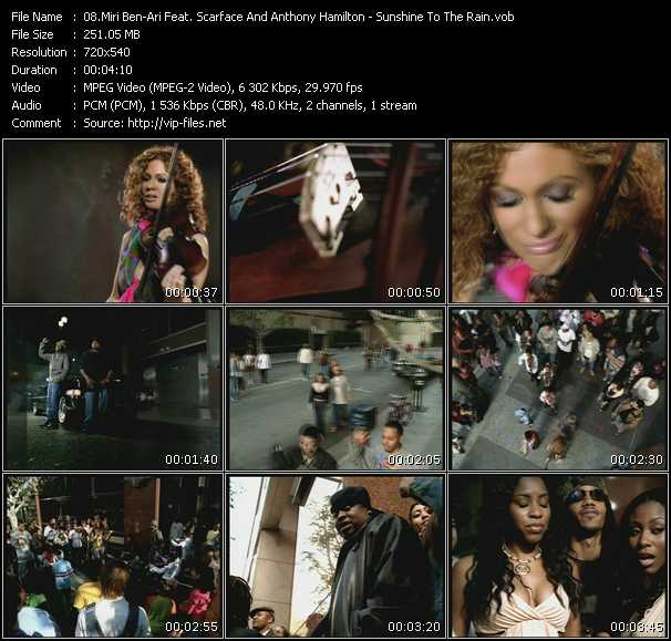 Miri Ben-Ari Feat. Scarface And Anthony Hamilton video screenshot