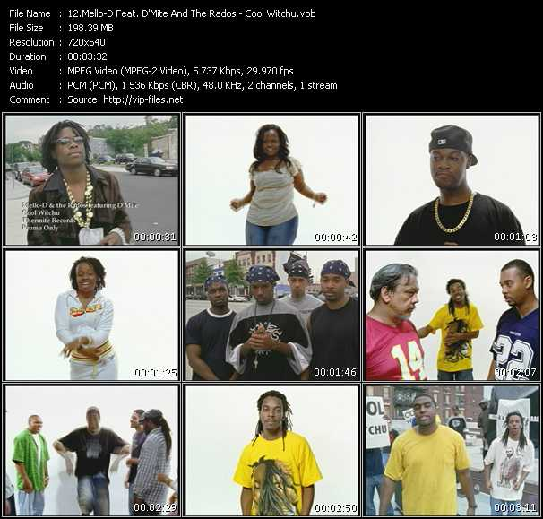 Mello-D Feat. D'Mite And The Rados video screenshot