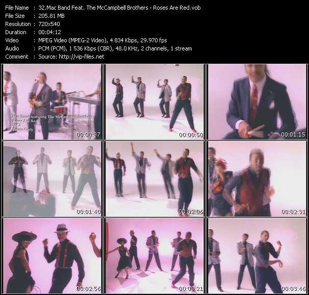 Mac Band Feat. The McCampbell Brothers video screenshot
