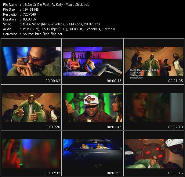 Do Or Die Feat. R. Kelly video screenshot