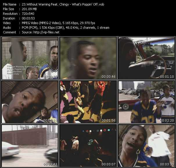 Without Warning Feat. Chingy video screenshot