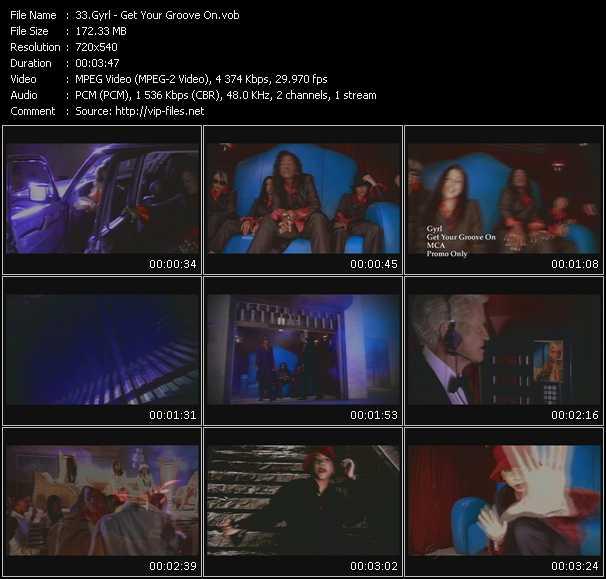 Gyrl video screenshot