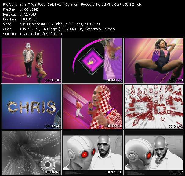 T-Pain Feat. Chris Brown - Common video screenshot
