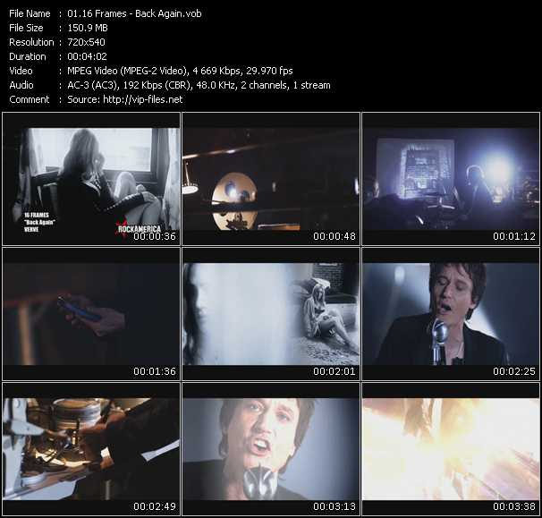 16 Frames video screenshot