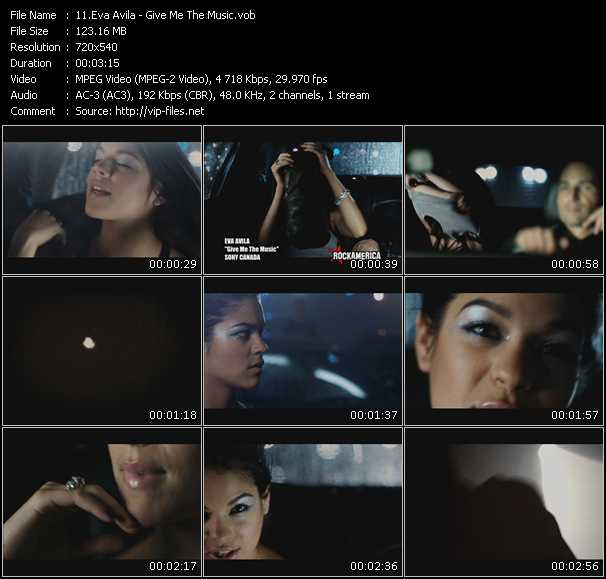 Eva Avila video screenshot