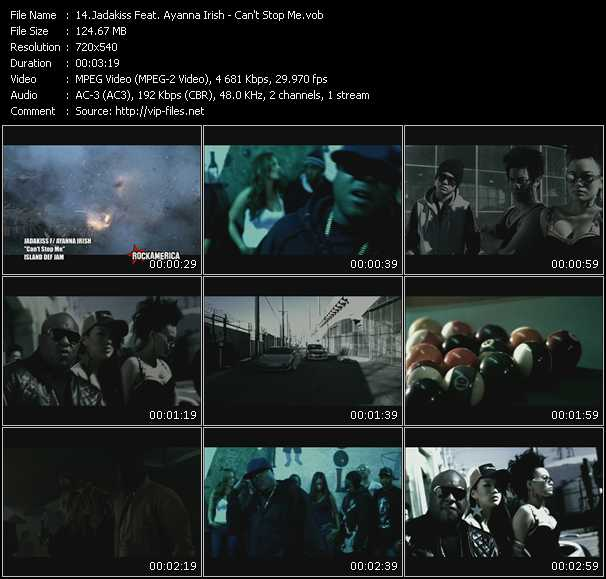 Jadakiss Feat. Ayanna Irish video screenshot