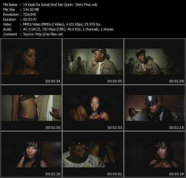 Keak Da Sneak And San Quinn video screenshot