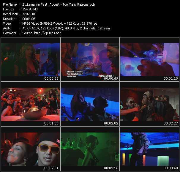 Lemarvin Feat. August video screenshot