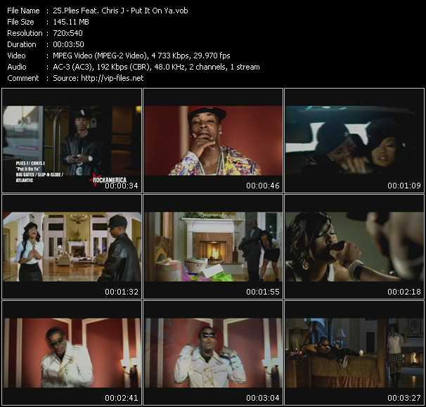 Plies Feat. Chris J video screenshot