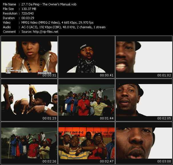 T Da Pimp video screenshot