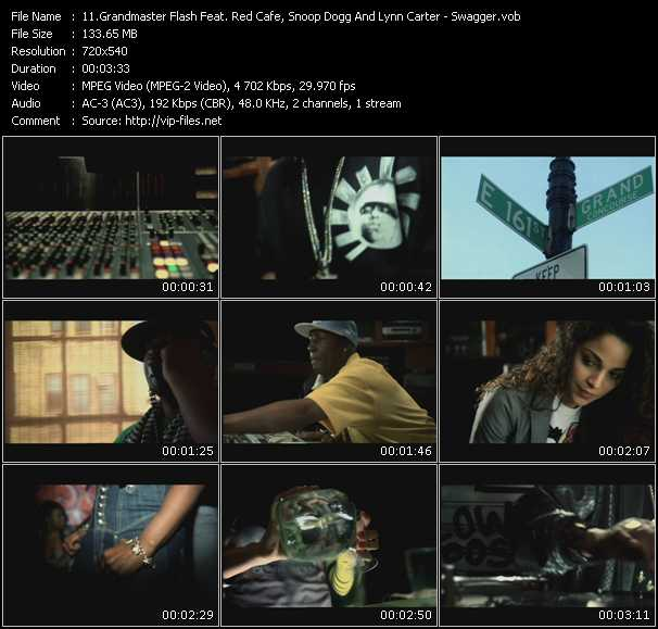 Grandmaster Flash Feat. Red Cafe, Snoop Dogg And Lynn Carter video screenshot