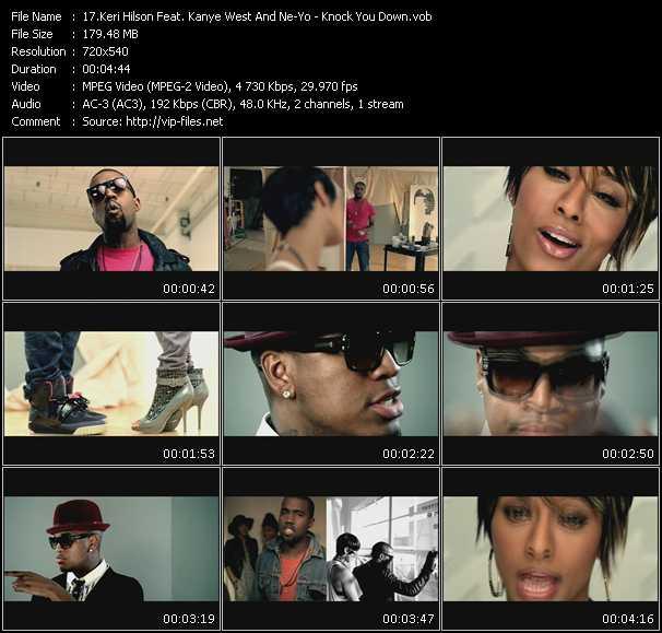 Keri Hilson Feat. Kanye West And Ne-Yo video screenshot