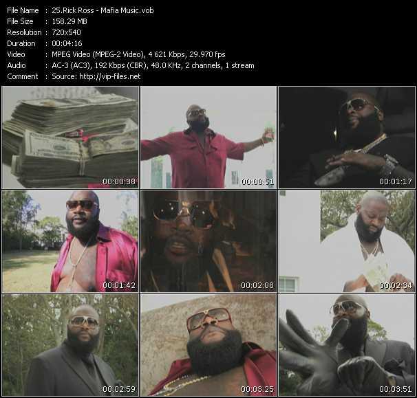 video Mafia Music screen