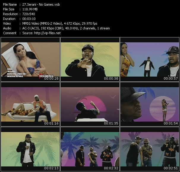 Serani video screenshot