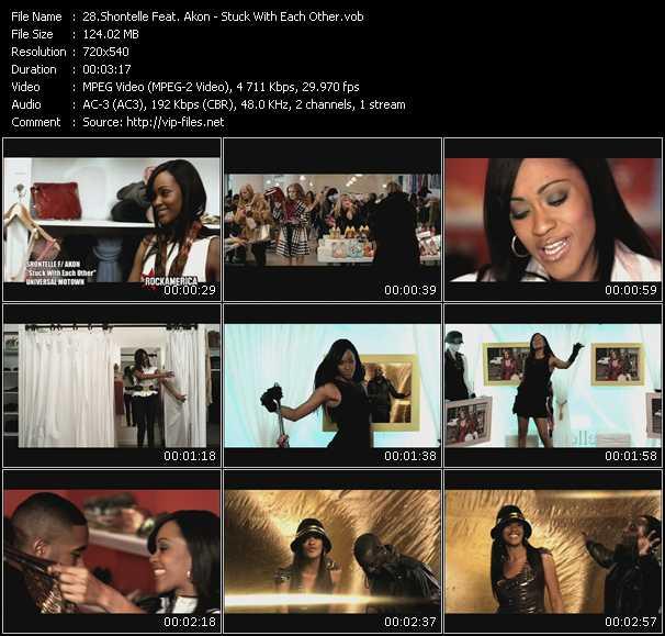 Shontelle Feat. Akon video screenshot
