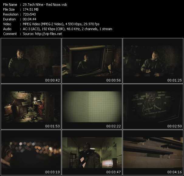 Tech N9ne video screenshot