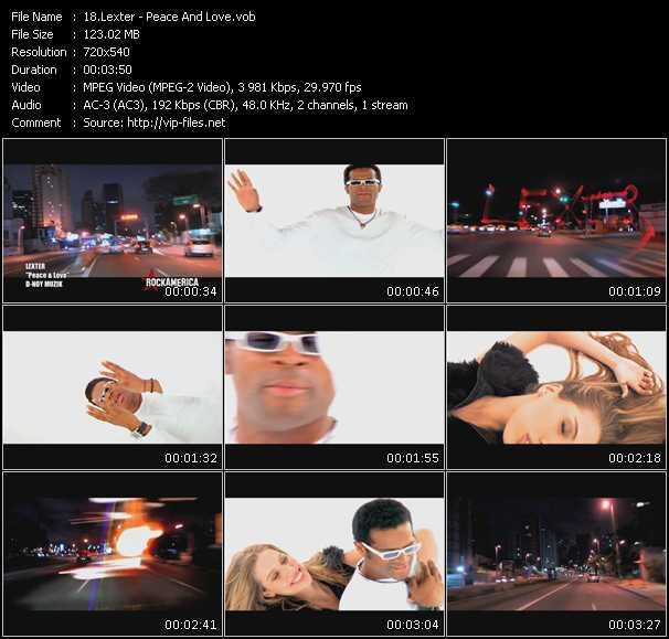 Lexter video screenshot