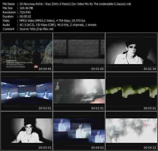 Nouveau Riche video screenshot