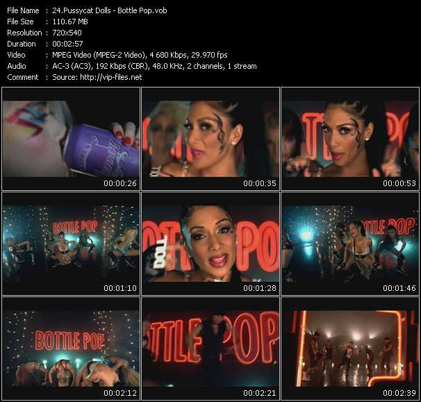 Pussycat Dolls video screenshot