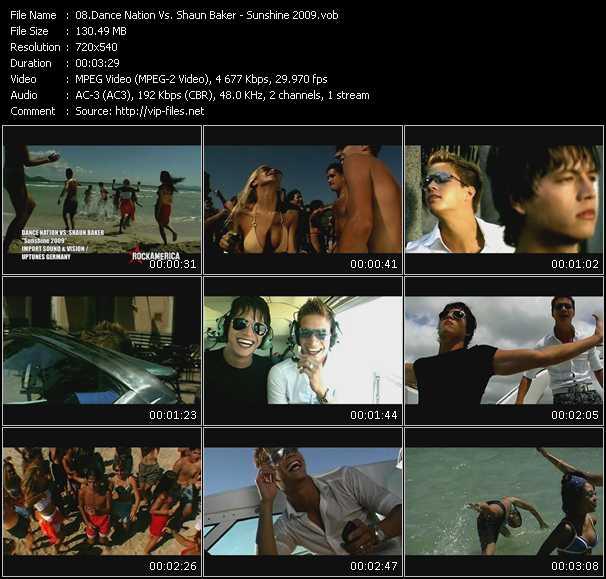 Dance Nation Vs. Shaun Baker video screenshot