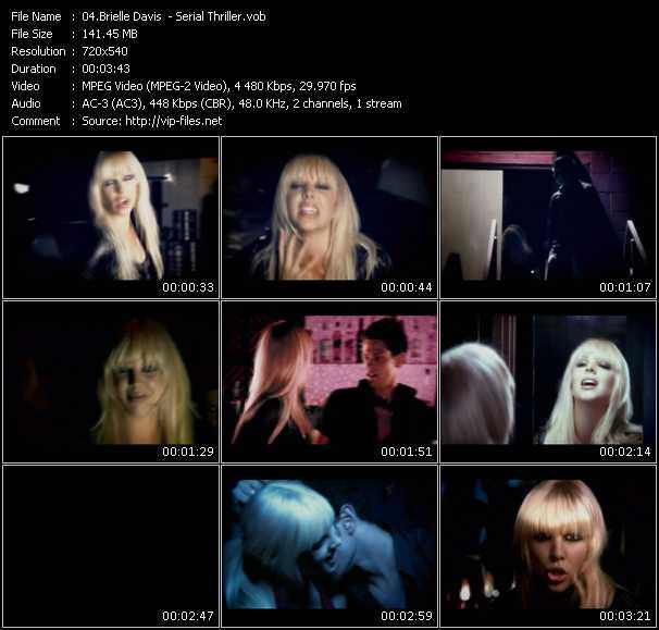 Brielle Davis video screenshot