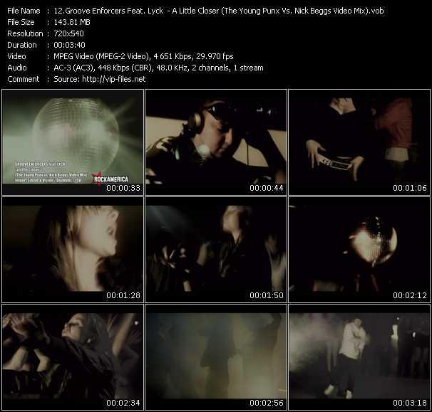 Groove Enforcers Feat. Lyck video screenshot