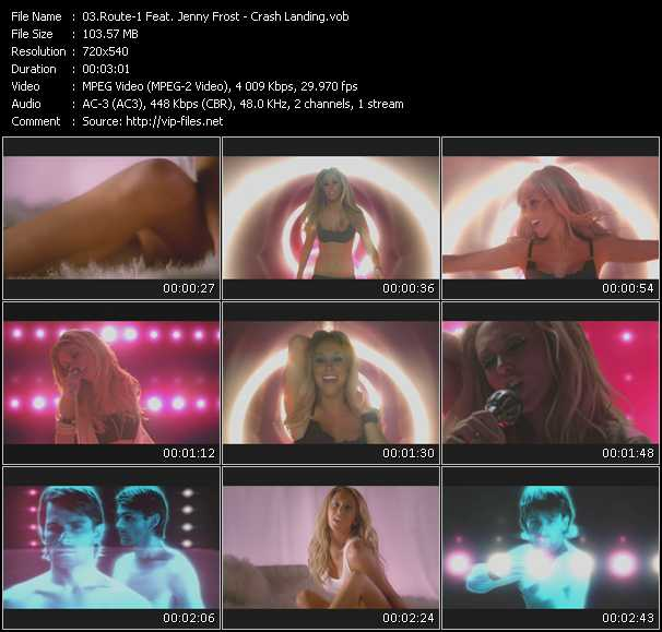 Route-1 Feat. Jenny Frost video screenshot