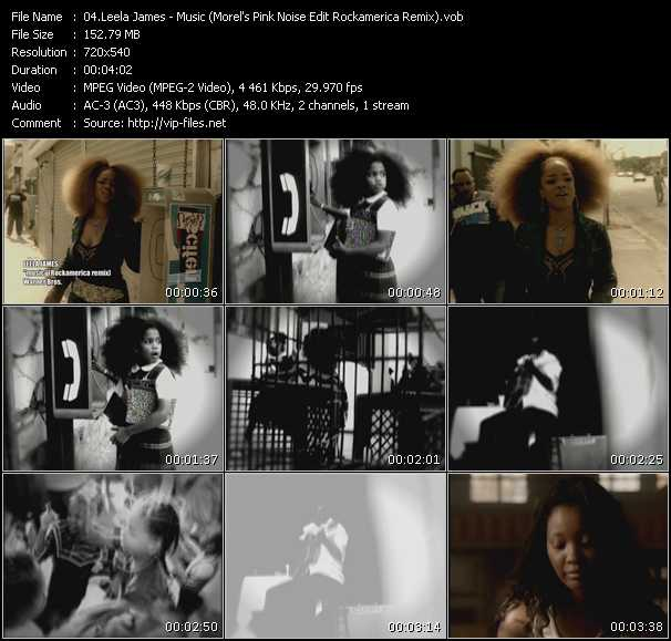 Leela James video screenshot