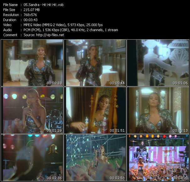 video Hi! Hi! Hi! screen