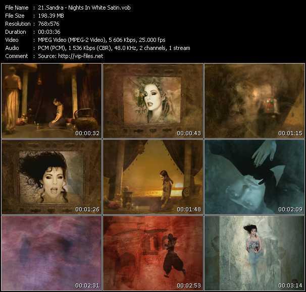 video Nights In White Satin screen