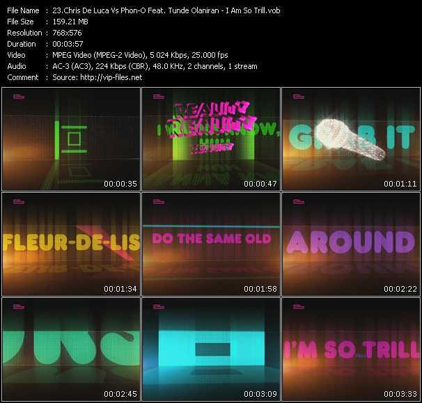 Chris De Luca Vs. Phon-O Feat. Tunde Olaniran video screenshot