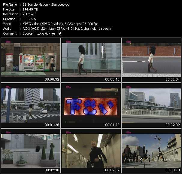 video Gizmode screen