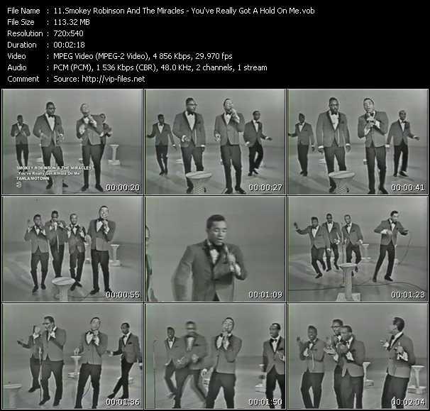 Smokey Robinson And The Miracles video screenshot