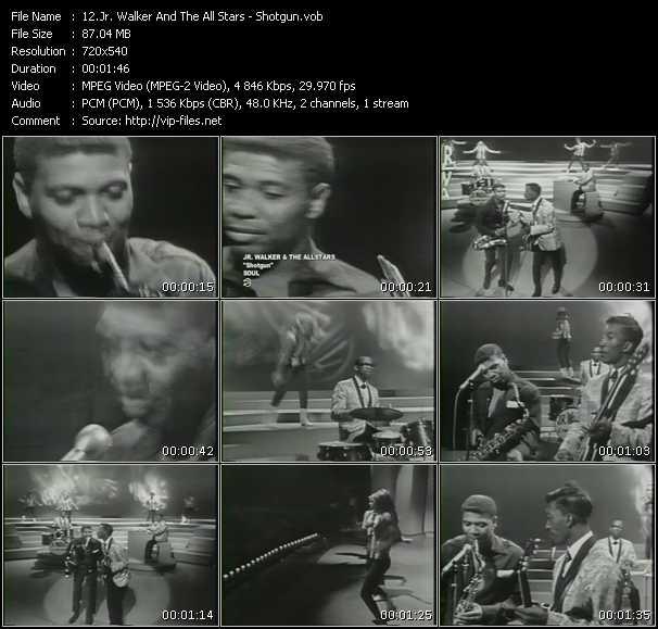 Jr. Walker And The All Stars video screenshot