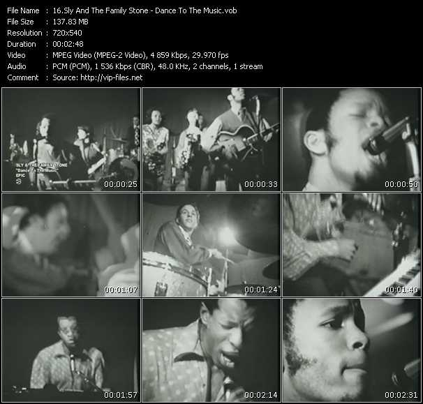 Sly And The Family Stone video screenshot
