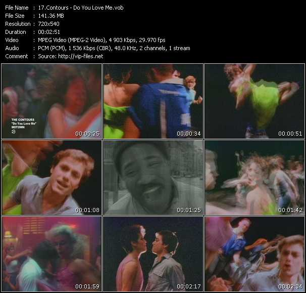 Contours video screenshot