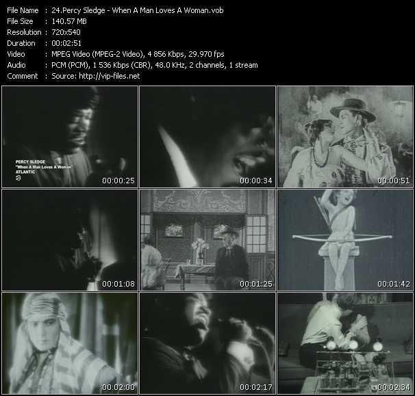 Percy Sledge video screenshot