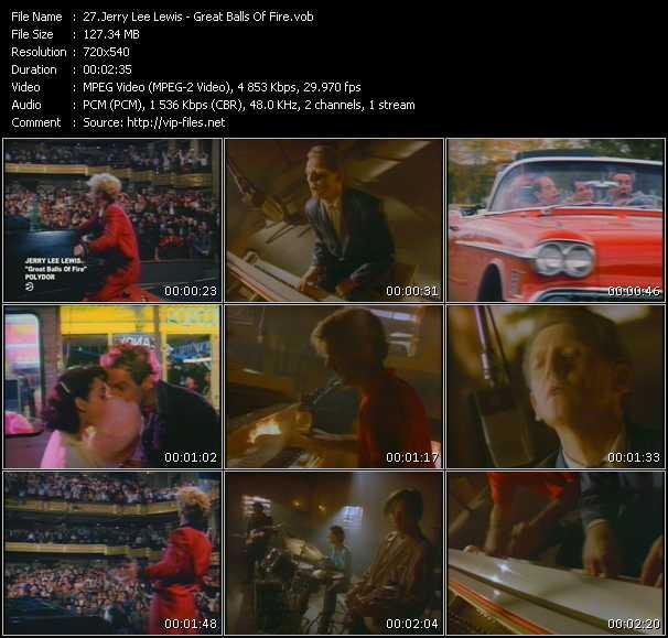 Jerry Lee Lewis video screenshot