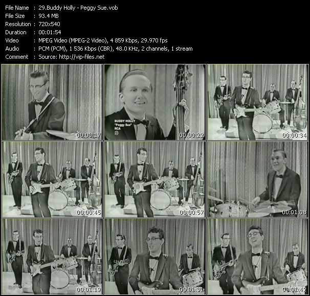 Buddy Holly video screenshot